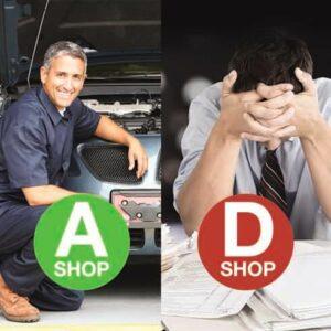 High Performance Body Shop VS Low Performance Body Shop