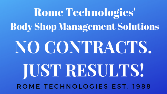 NO CONTRACT with Rome's Body Shop Management Solutions