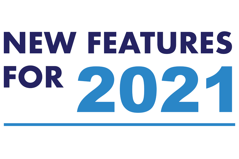 2021 new features