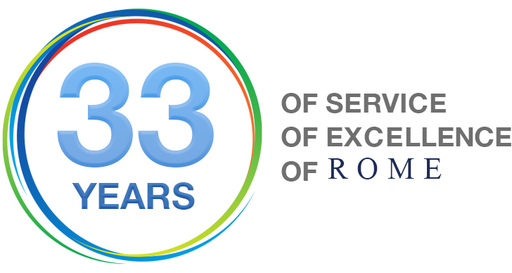 21 years of excellence at Rome